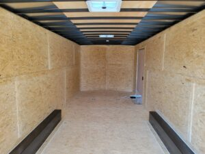 Pace Journey 8.5x24 10K - Closeup of rear interior
