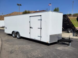 Pace Journey 8.5x24 10K - Passenger side front 3/4 view