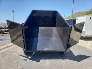 Five Star 6.5x10 7k Dump4ft - Rear view bed dumped