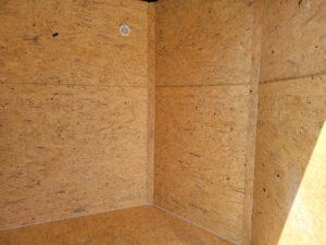 Closeup through open side door