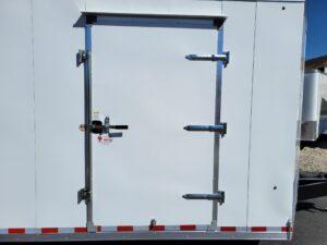 Pace Cargo Sport 8.5x28 15K - View of side door closed