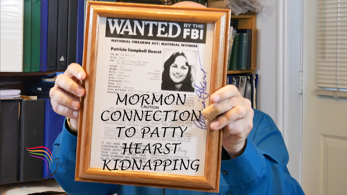 FBI Wanted poster. The Patty Hearst kidnapping morphed into a bank robbery where she was the robber!