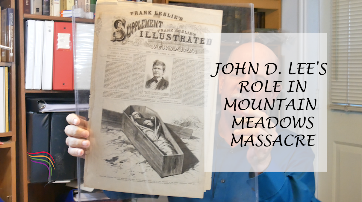 John D. Lee was the only person executed for involvement in the Mountain Meadows Massacre, Sept 11, 1857.