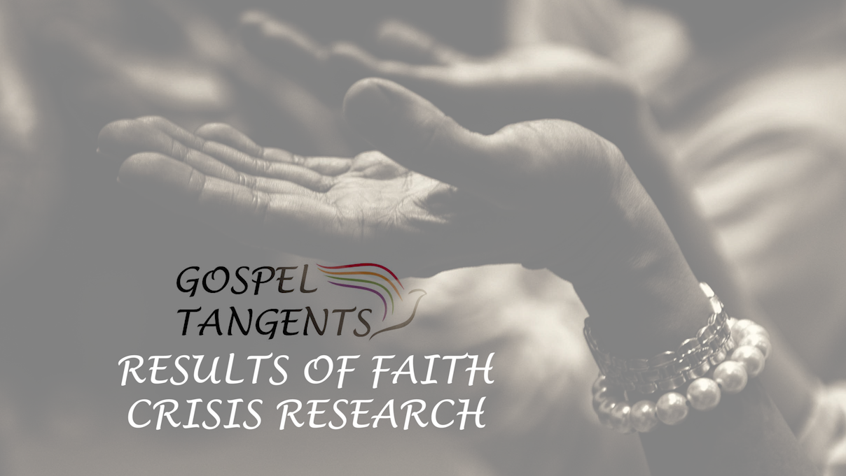 Kurt Francom discusses David Ostler's faith crisis research, and hopes to make wards more friendly to those who doubt.