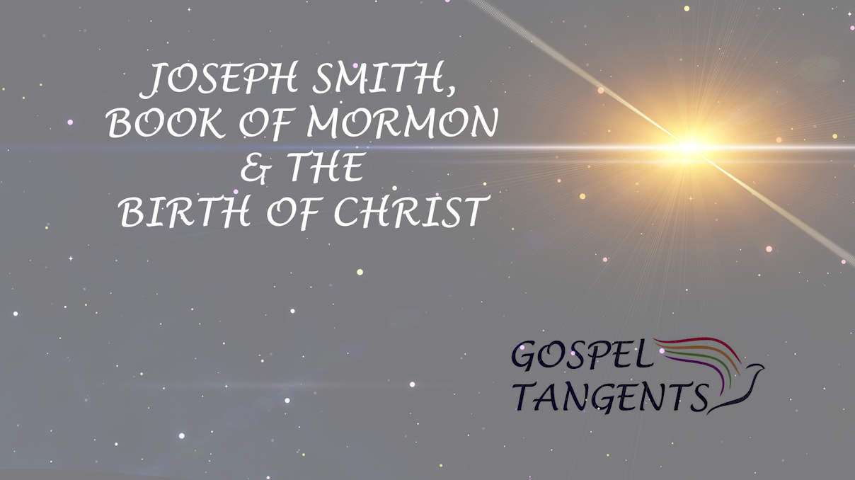 Dr. Jeff Chadwick examines the Book of Mormon and April 6 for the birth of Christ.