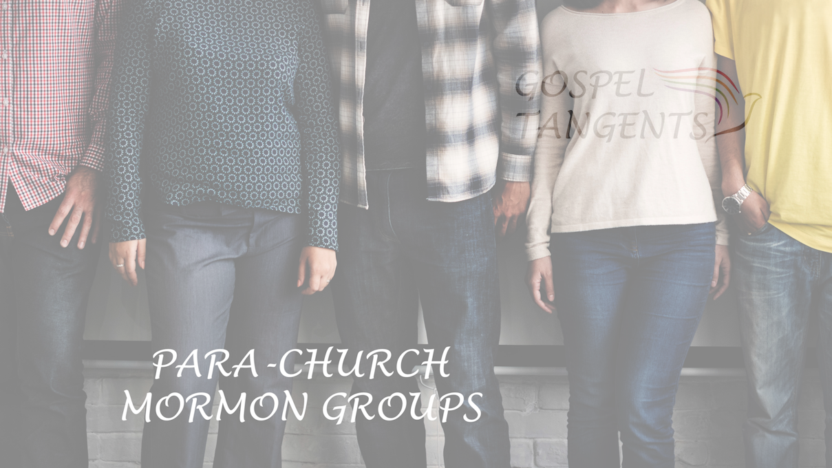 Steve Shields describes para-church Mormon groups.  What is that?