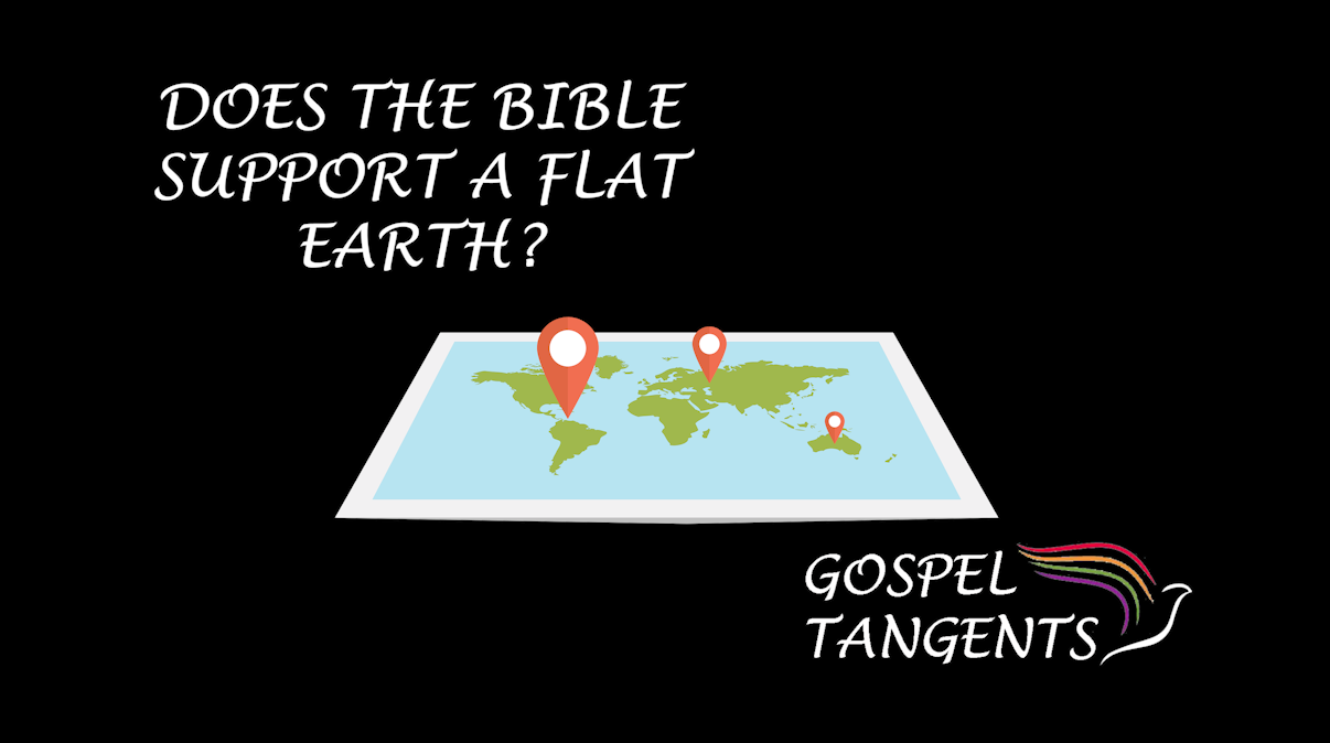 Is it true that the Bible supports a flat earth?