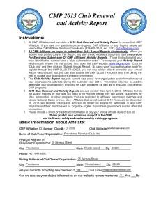 CMP Membership for PRC