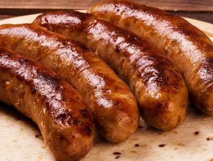 Apple Butter Sausages