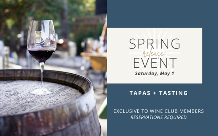 Spring Release Event - Dorcich Family Vineyards