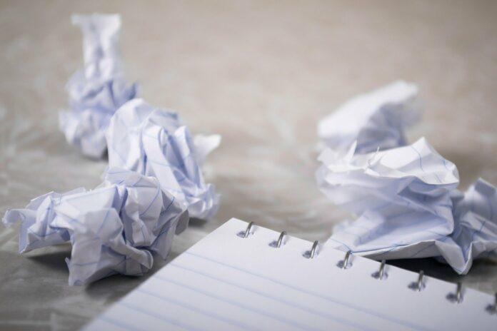 writers having trouble writing