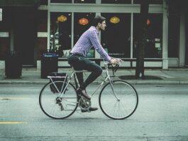 ride bike to work