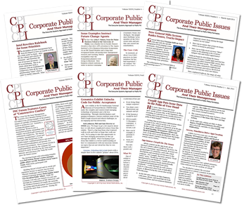 Issue Action Publications Corporate Public Issues Newsletter