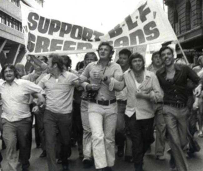 Builders Labourers Federation demonstration