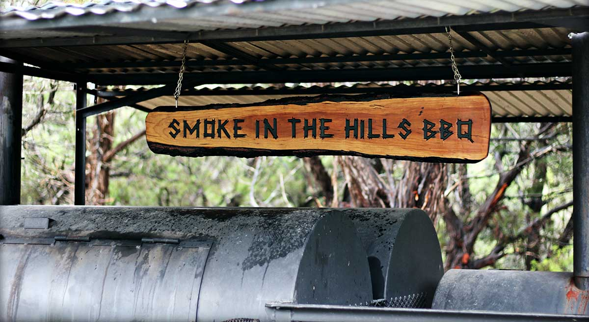 Smoke in the hills