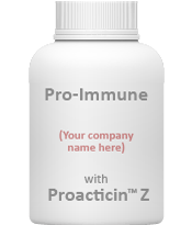 Example of a bottle that can contain probiotics Proacticin™ Z