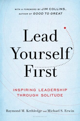 As the title implies, if we are to lead we must first learn to lead ourselves. Based on the concept of using solitude and quiet meditation to better understand ourselves and our opportunities, Lead Yourself First uses historical reference to some great people to get it's point across. This book is a short, impactful book that is well worth reading in one's quest for continued improvement and growth.