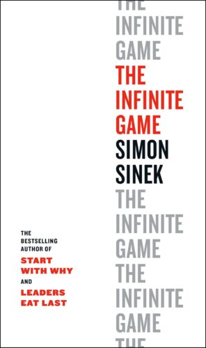 """One of my favorite """"Simon"""" concepts… there is a big difference between finite and infinite games and understanding that difference and applying the appropriate format in the right places is the difference between short term thinking and long-term success. I heard Simon talk about this concept about 4 years ago, well before he had written the book, and it rang so true with me that it became a mainstay in all of my conversation around building a business."""