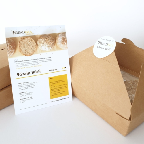 baking kits in reusable food containern