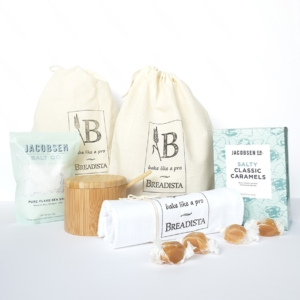 Traditional bread and salt gift box
