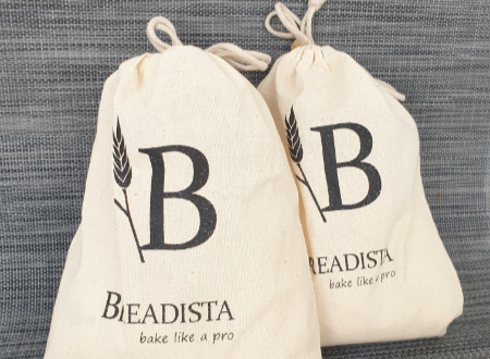 bread baking kits in reuseable Cotton Bags
