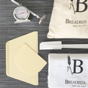 bread making gift set with baking tools