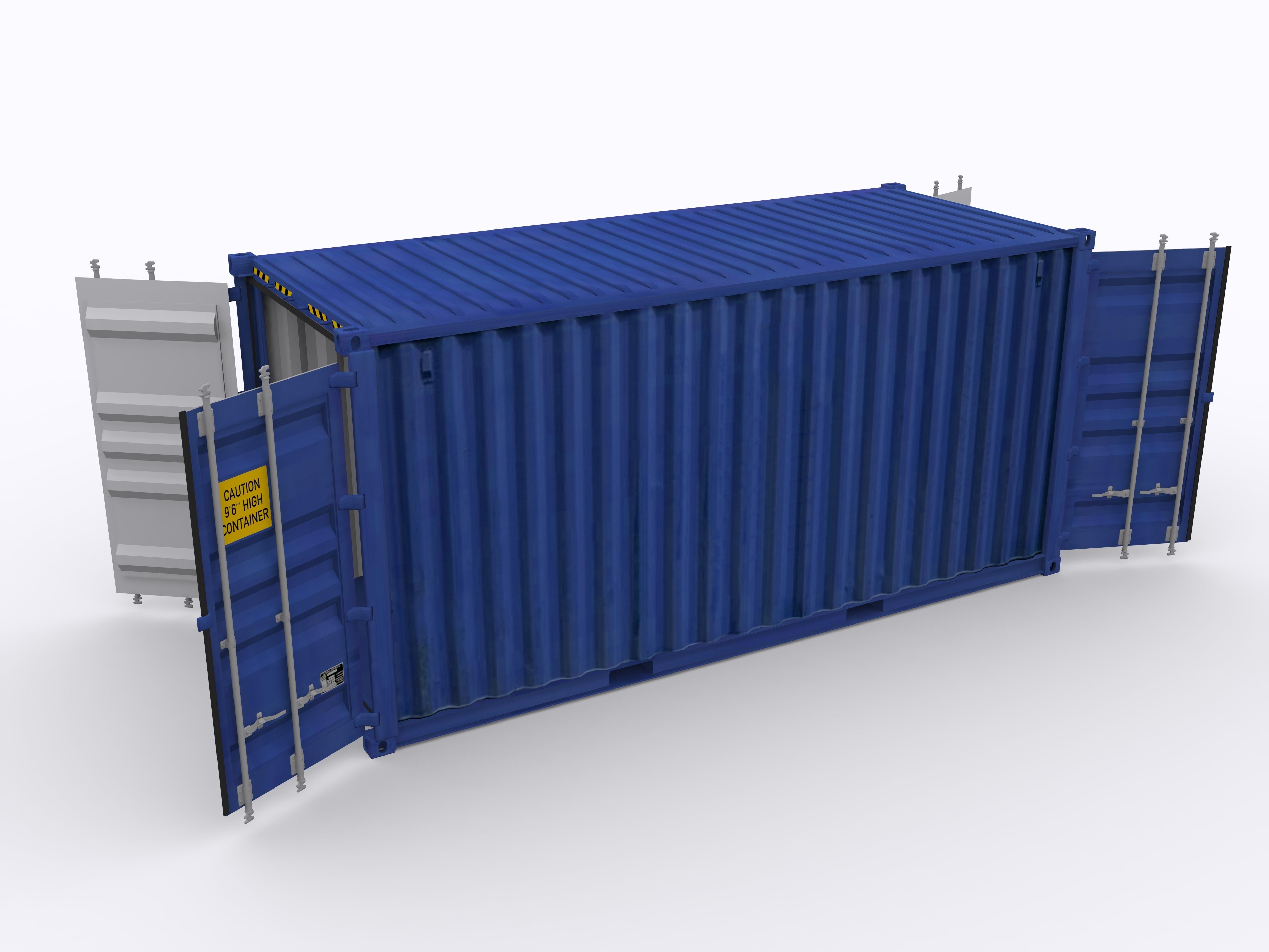 20ft Double Door Container