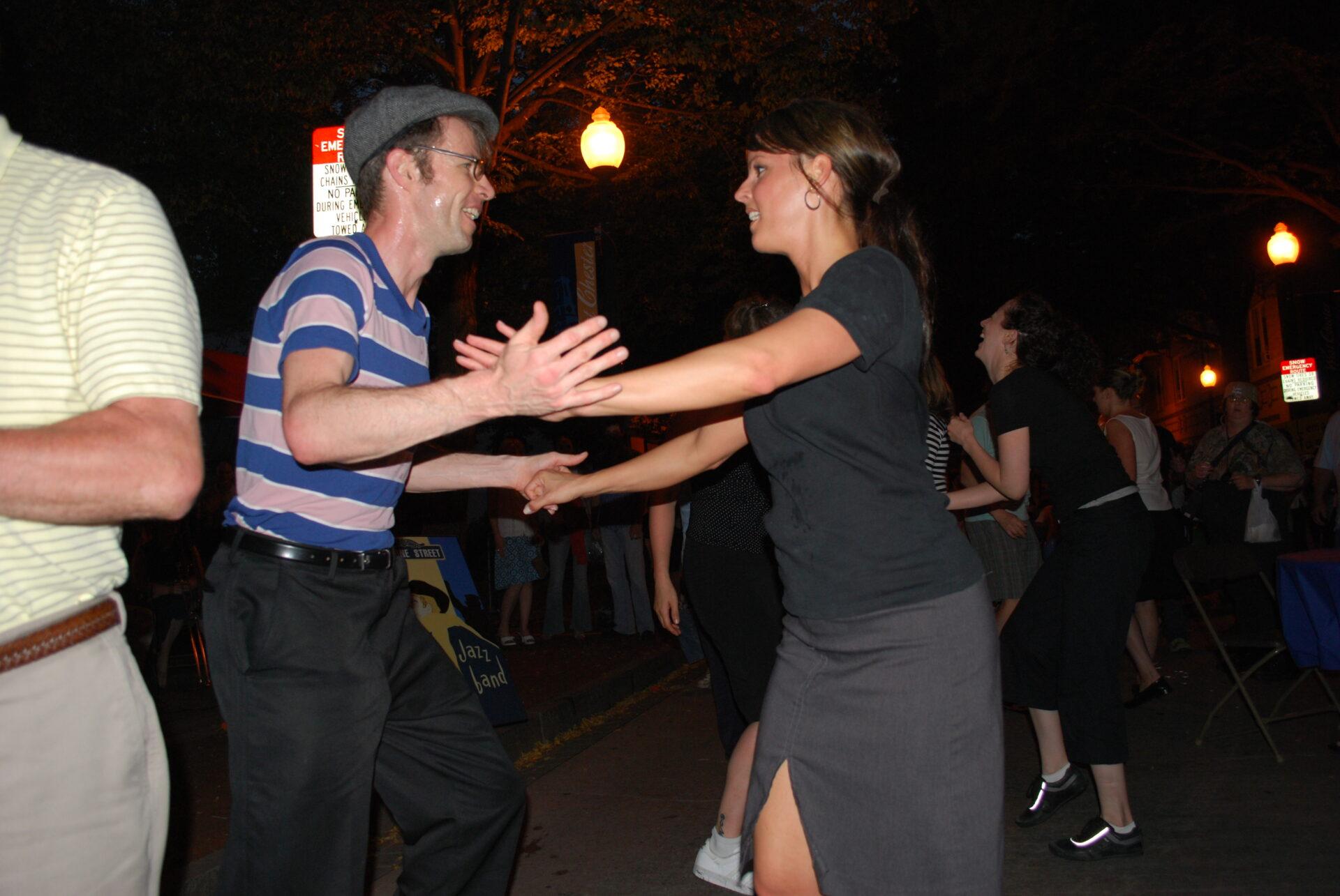 Swing Dancers, Swinging Thursdays West Chester
