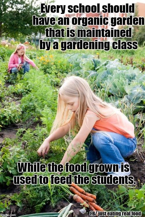 Every school should garden