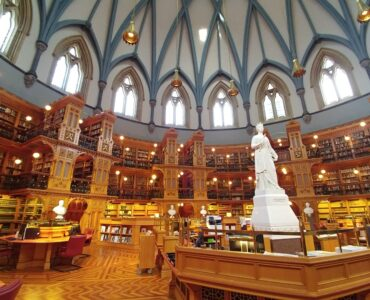 library interior ottawa parliament