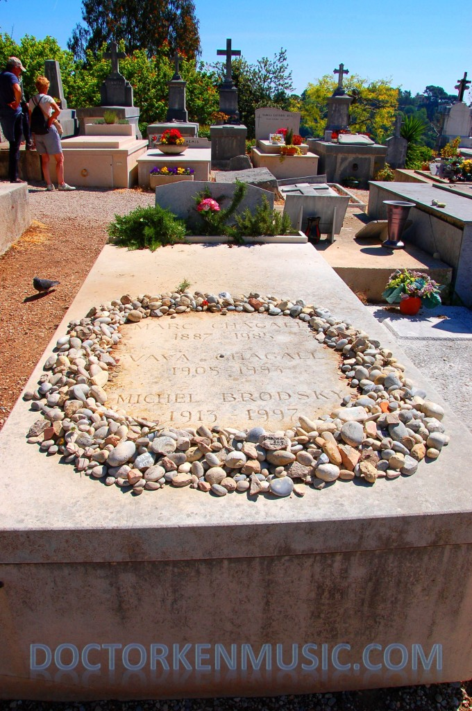 Marc Chagall's Grave
