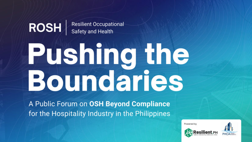 Resilient Occupational Safety and Health (ROSH): Pushing the Boundaries