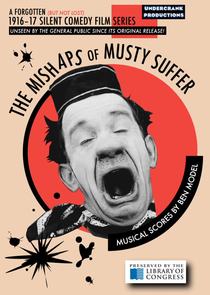 Mishaps of Musty Suffer DVD