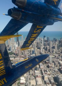 Blue Angels return to Chicago in August for the city's Air and Water show. City of chicago photo.