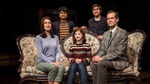 Cast of 'Fun Home' at Victory Garden Theater. (Liz Lauren photo)