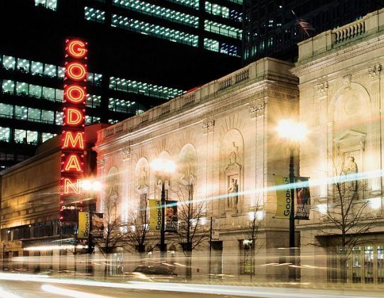 Goodman Theatre is among four longtime Chicago area theatres to be honored at Jeff Awards (Goodman Theatre photo)