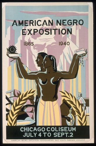 Historic designs by African Americans on exhibit at the Chicago Cultural Center. (Photo courtesy of City of Chicago)