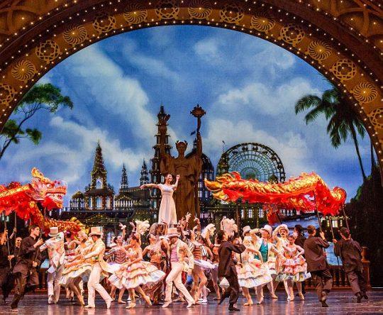The Joffrey Ballet's Nutcraker at Aurditorium Theatre. (Photo by Cheryl Mann)