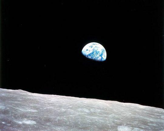 Earth Rising (Photo courtesy of NASA