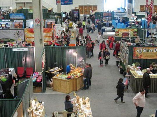Chicago Flower & Garden Show Market place. (Photo courtesy of Chicago Flower & Garden show)