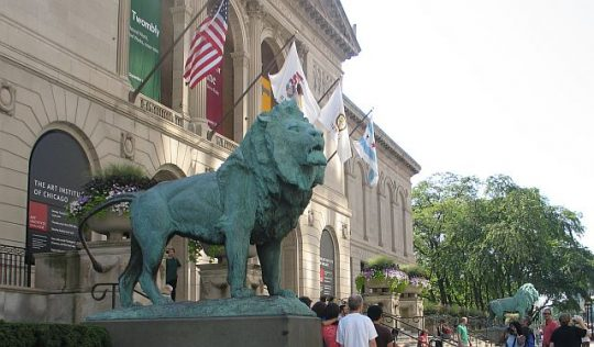 Art Institute of Chicago is a popular destination for tourists and residents. (J Jacobs photo)