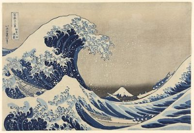 'The Great Wave' by Hokusai will be on view for a short time in a special Japanese prints exhibit the Art Institute of Chicago. (Photo courtesy of Art Institute of chicago