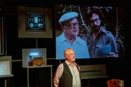 Ross Lehman in sentimental Journey at Citadel Theatre. (Photo by North Shore Camera Club)