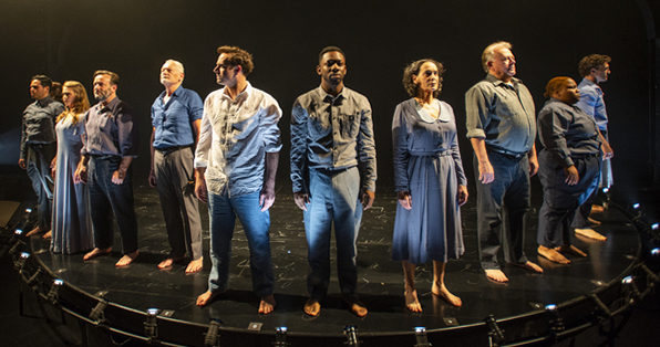 Cast of Augie March at Court Theatre. (Michael Brosilow photo)