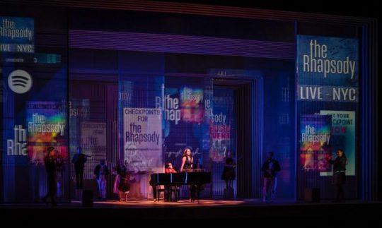 The cast of August Rush at Paramount Theatre in Aurora. (Liz Luaren photo)