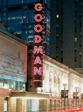Goodman Theatre on Dearborn at Randolph (Goodman photo)