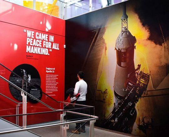 The Adler Planetarium celebrates the Apollo II anniversary July 18-20. (Photo courtesy of Adler Planetarium)