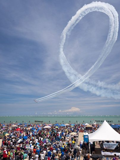 Chicago Air and Water Show comes Aug. 17-18. (Photo courtesy of Chicago Department of Cultural Affairs and Special Events)
