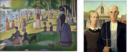 Photos courtesy of the Art Institute of Chicago