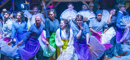 Cast of Peter and the Starcatcher at Citadel Theatre ( Photo by North Shore Camera Club)